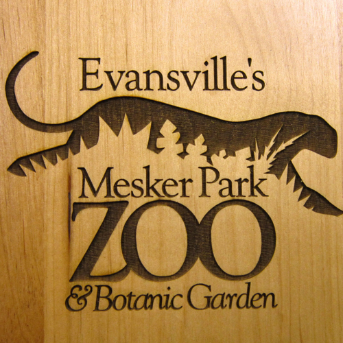 Laser engraved wooden plaque